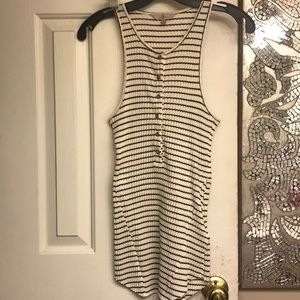 Striped tank top Seven for All Mankind size XS